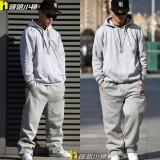 重庆大纯色纯黑套头卫衣街头嘻哈HIPHOP街球篮球卫衣定做
